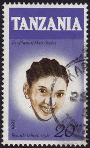 Tanzania - 1986 - Scott #349 - used - Hair Style