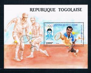 Togo 1443 MNH SS Tennis 1987 (T0092)