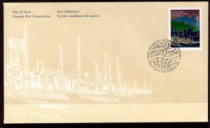 Canada 1613 British Columbia Canada Post U/A FDC