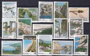 Greece #1328-42  MNH  CV $4.05  Z906