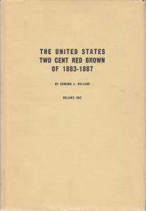 United States Two Cent Red Brown of 1883-1887, by Edward L. Willard, used