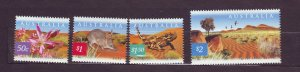 J23779 JLstamps 2002 australia set mnh #2060-3 wildlife