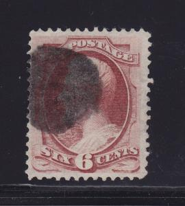 137 VF used neat cancel PF cert. rich color cv $ 450 ! see pic !