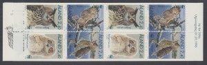 Aland 125a Birds Booklet MNH VF
