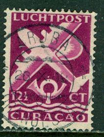 Netherlands Antilles 1947: Sc. # C33A; O/Used Single Stamp