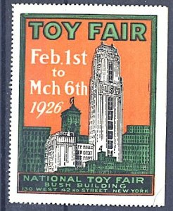 Cinderella USA National Toy Fair New York City 1926