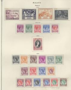 Malaya Malacca 18-44 Mint VF NH (22-27 H)
