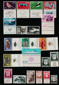 Israel x 2 pages of M&U earlyish most with tabs
