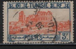 TUNISIA , 107, USED, 1926-46 Roman Amphitheater, El Djem