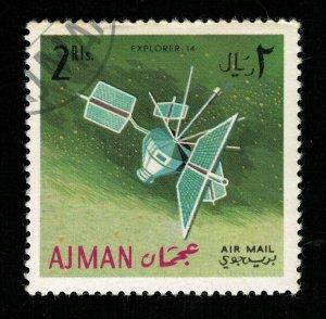 Space 1966 Airmail, Ajman 2Rls. (TS-568)