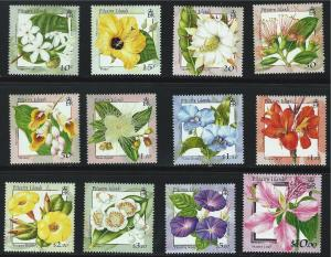 Pitcairn Islands SC512-523 Beautiful Flowers MNH 2000