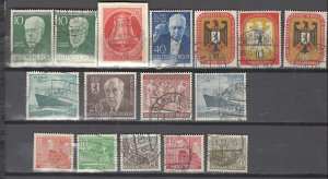 COLLECTION LOT # 2941 GERMANY BERLIN 16 STAMPS 1949+ CLEARANCE CV+$21