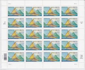 U.S: #3389 33¢ AMERICAN SAMOA MINT SHEET/20 NH