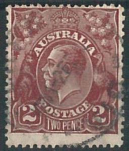 70268k - AUSTRALIA - STAMP: Stanley Gibbons #  98 -  Finely Used