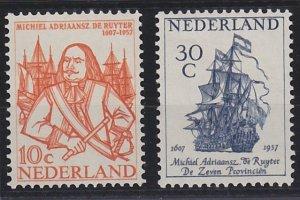 Netherlands 370-371 MNH (1957)