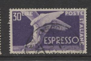 Italy - Scott E23 - Expresso Post -1945 - Fine Used - Single 30 Lire Stamp