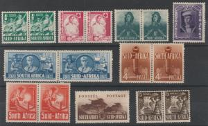 SOUTH AFRICA 1941 WAR EFFORT SET