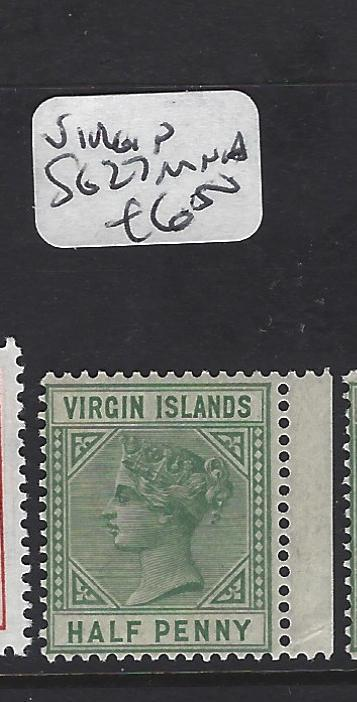 VIRGIN ISLANDS   (PP1208B)  QV 1/2D  SG 27  MNH