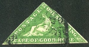 Cape of Good Hope SG 8 UFH - New 2021 APS Cert. #237101 - 2021 SGCV £300.00