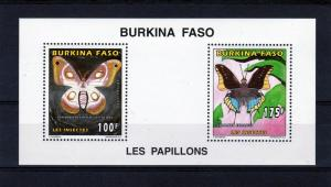 Burkina Faso 1996 Butterflies (2) Compound SS Mi.1419 & 1421