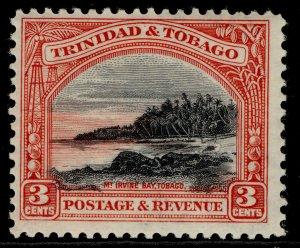 TRINIDAD & TOBAGO GV SG232, 3c black & scarlet, NH MINT.
