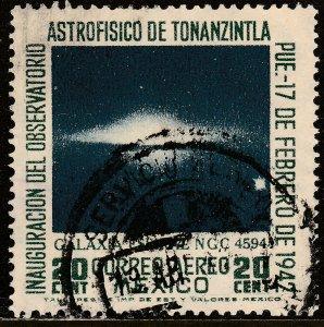 MEXICO C123, 20cts Tonanzintla Astrophysics Observ Used, F-VF. (1142)