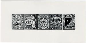 (I.B) Australia Cinderella : Penny Postage Essays (reprint)