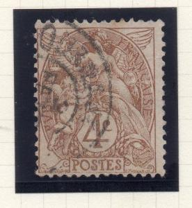 France 1900 Blanc Early Issue Fine Used 4c. SHADE VAR 269687