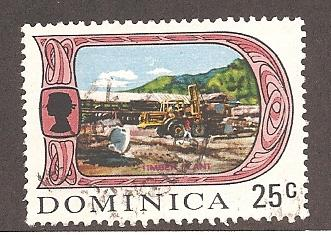 Dominica 279 Used VF