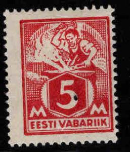 Estonia Scott 70 MH* from 1922-25 set