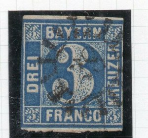 Bayern 1849 Early Issue Fine Used 3Fr. 262627