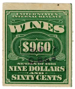 (I.B) US Revenue : Wines Duty $9.60