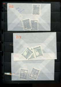AUSTRIA 6 SCANS MUCH OG NH U/M COLLECTION LOT 1948 COMMEMORATIVES