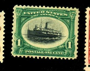 294 MINT F-F OG NH Cat $40