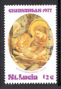 St Lucia 427 Christmas MNH VF