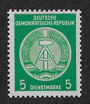 GERMANY - DDR SC# O18  FVF/MLH 1954