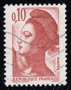 France #1784 Liberty; Used (0.25)