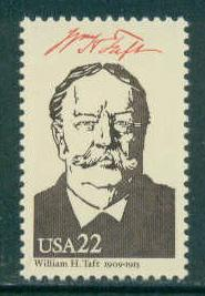 2218h 22c William H. Taft MNH Fine W3128