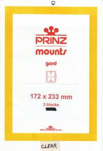 PRINZ 172X233 (3) BLACK MOUNTS RETAIL PRICE $10.50