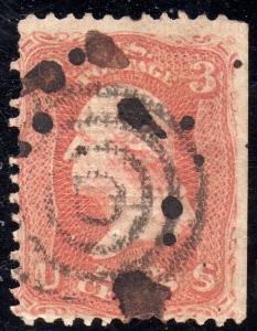 US Sc #88 Used