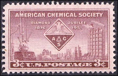 Scott 1002 American Chemical Society MNH