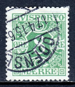 Denmark - Scott #P14 - Used - Hinge bump - SCV $4.50