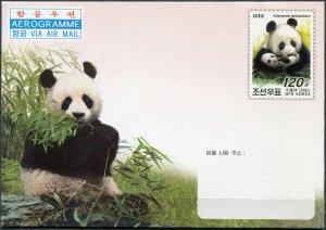 Korea 2005. Giant Panda (Ailuropoda melanoleuca) (Mint) Aerogram