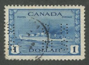 CANADA B.O.B. 4-HOLE OHMS O262 USED VF A