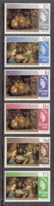 Cayman Islands Scott #203-208 MNH