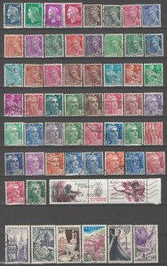 COLLECTION LOT # 02L FRANCE 102 STAMPS CLEARANCE