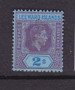 Leeward Islands 1938 KGVI Sc 112a MH