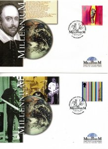 1999 Sg 2119/22 The Artists Tale FDC (Limited Edition of 5000 Covers)