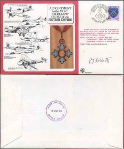 DM7a Most Excellent Order of the British Empire Signed by R.J. Abbott (C)