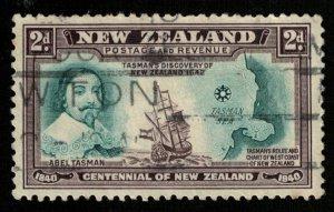 1940, New Zealand, 2d, SC #232 (Т-8513)